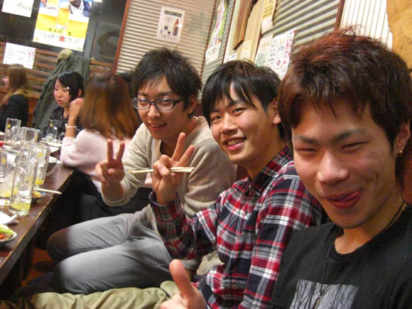 タケハラ、ミト、ヤマザキ