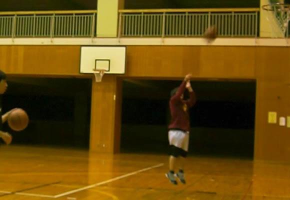 OTKさんジャンプシュート