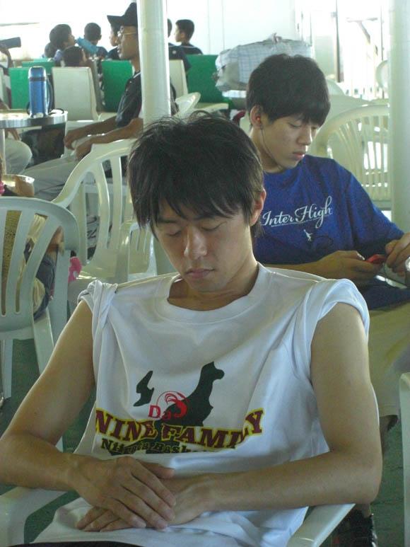 眠るMr.新潟
