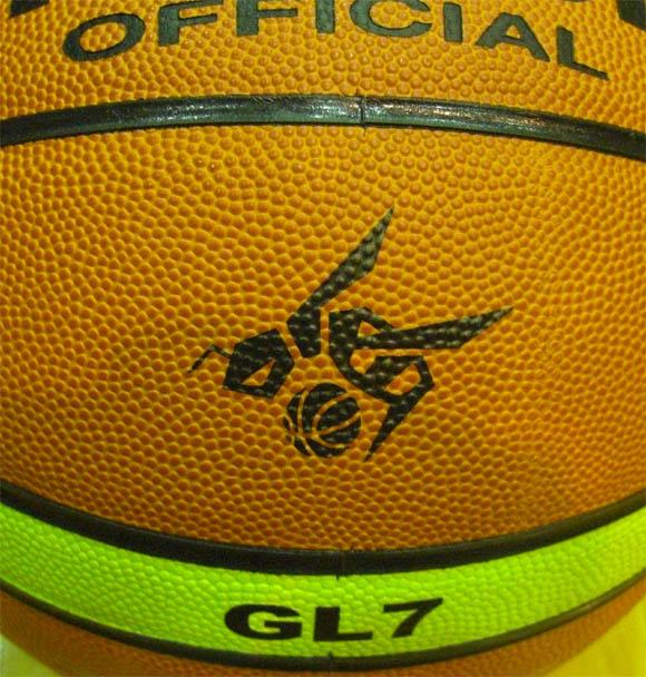 OTKさんのボールのプリント