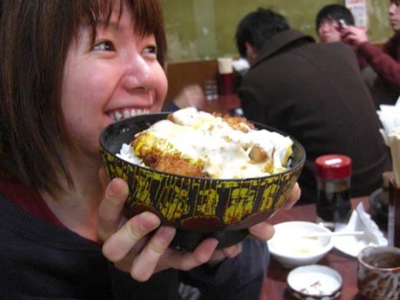 チーズなんとか和風カツ丼