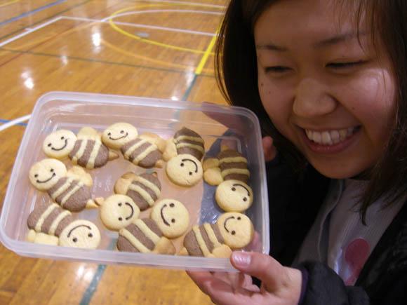 ハチのクッキー