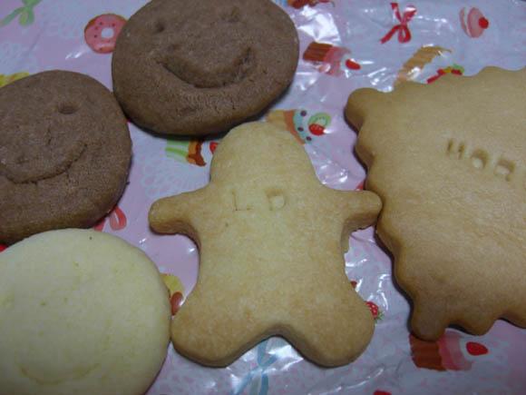 名前入りクッキー
