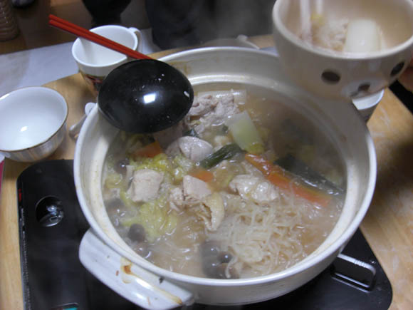 豚骨醤油の鍋