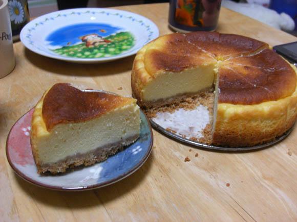 クオリティが高いチーズケーキ