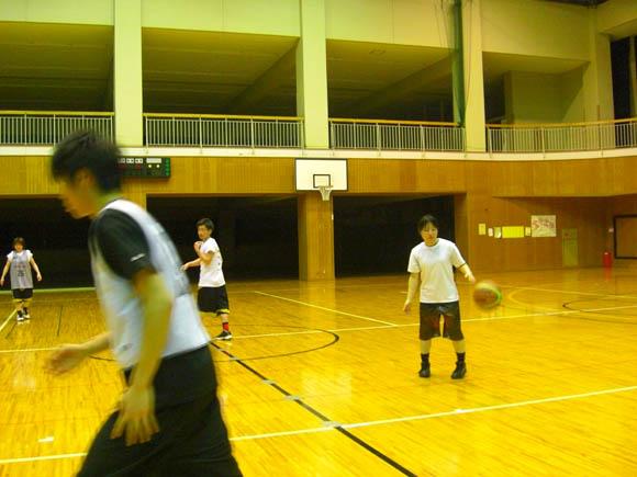 練習の風景