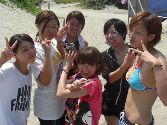 集まった女子メンバー