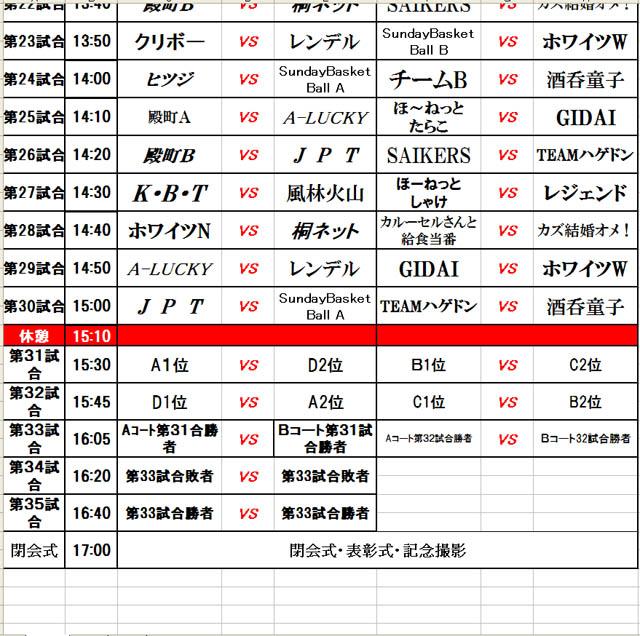 2013新産3オン3組み合わせ3