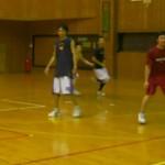 なつかしのメンバーとバスケ