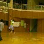 練習試合 vs 農業大学のチーム
