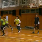 パス中心のバスケ
