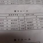 11月13日(日)Sリーグ日程と練習試合の予定