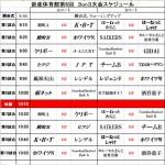 新産体育館第6回3on3大会詳細