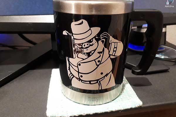 ポルコのマグカップ
